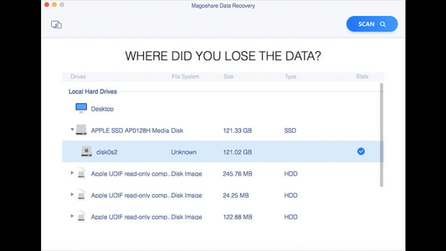 Magoshare Data Recovery for Mac - review, screenshots