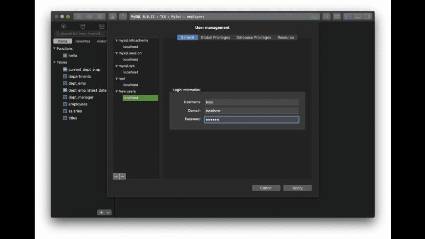 TablePlus for Mac - review, screenshots