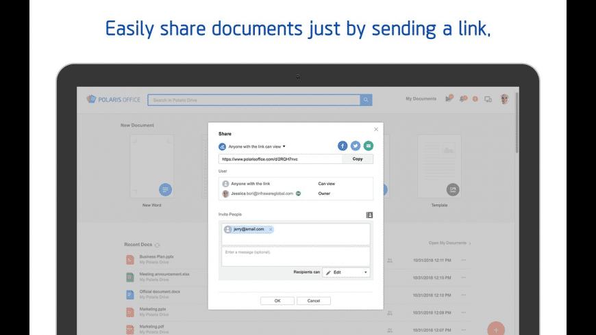 Polaris Office for Mac - review, screenshots