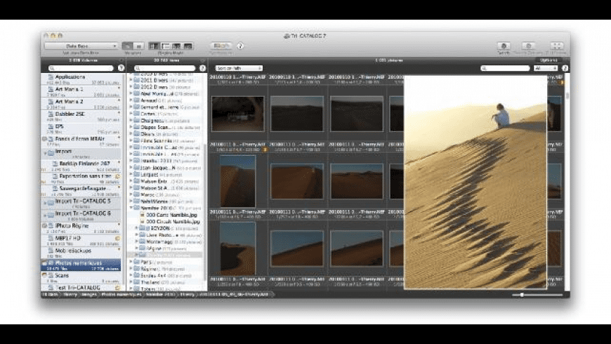 Tri-CATALOG for Mac - review, screenshots