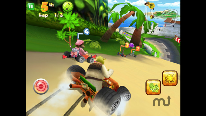 Shrek Kart HD for Mac - review, screenshots
