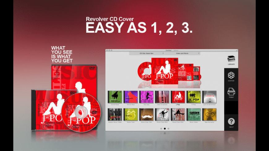 Revolver CD Cover for Mac - review, screenshots