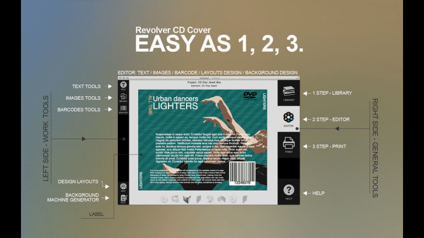Revolver CD Cover for Mac - review, screenshots