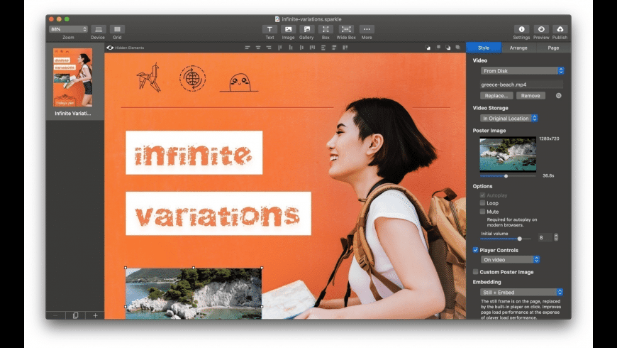 Sparkle Pro for Mac - review, screenshots