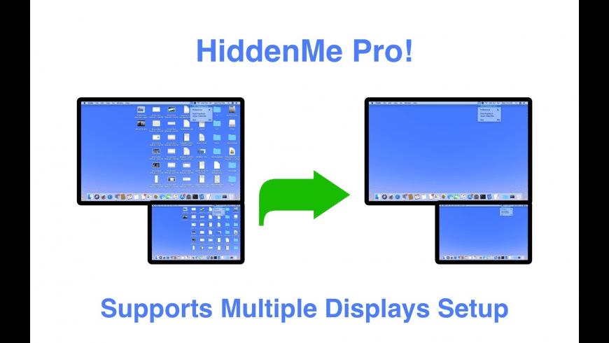 HiddenMe Pro for Mac - review, screenshots