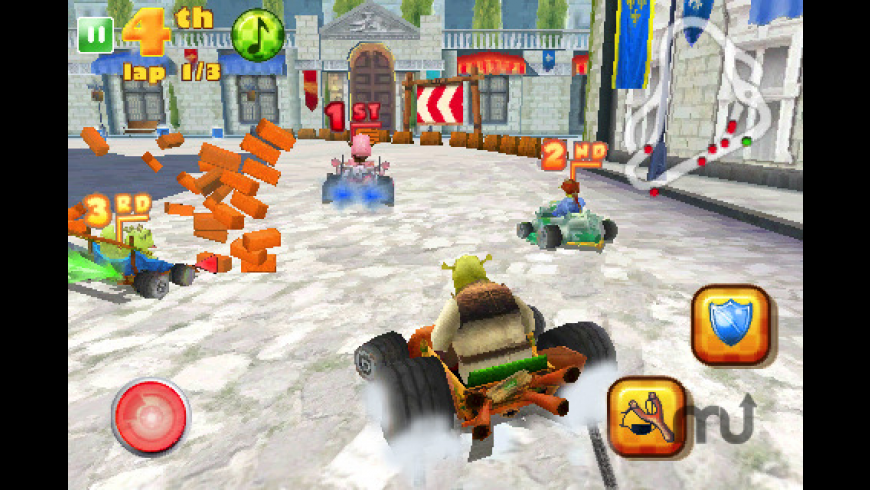Shrek Kart FREE for Mac - review, screenshots