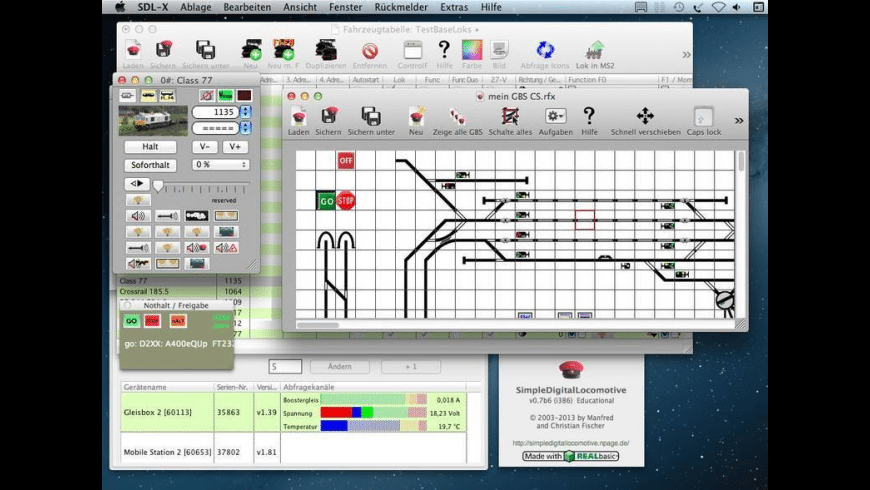 SimpleDigitalLocomotive for Mac - review, screenshots