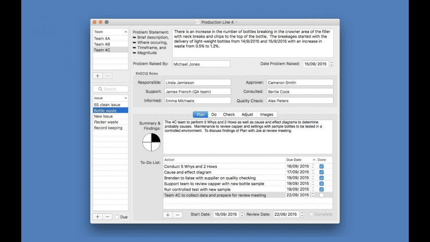 PlanDoCheckAdjust for Mac - review, screenshots