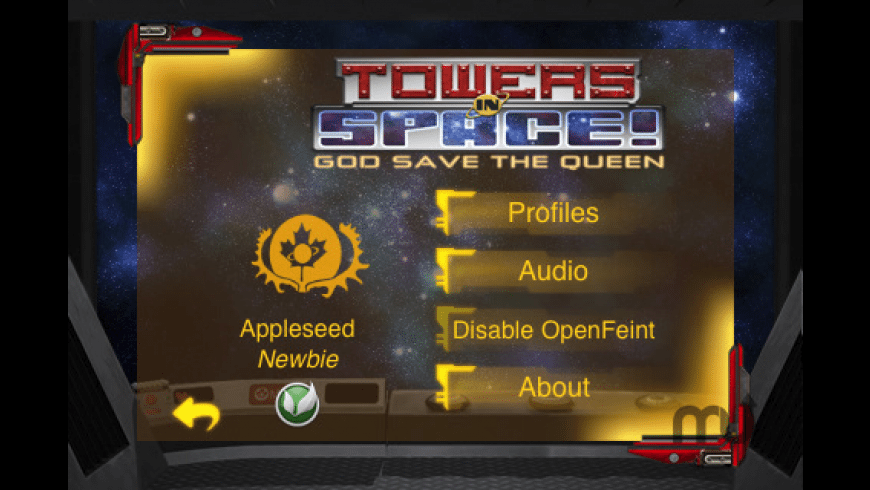 Towers in Space! for Mac - review, screenshots