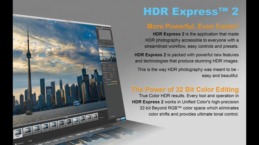 HDR Express for Mac - review, screenshots