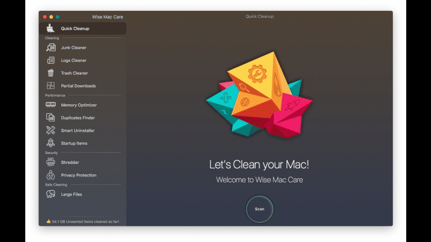 Wise Mac Care for Mac - review, screenshots