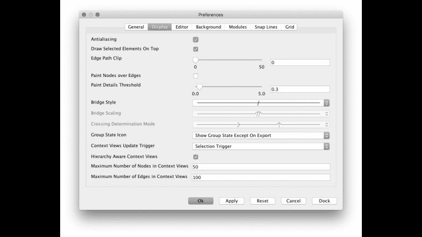yEd for Mac - review, screenshots