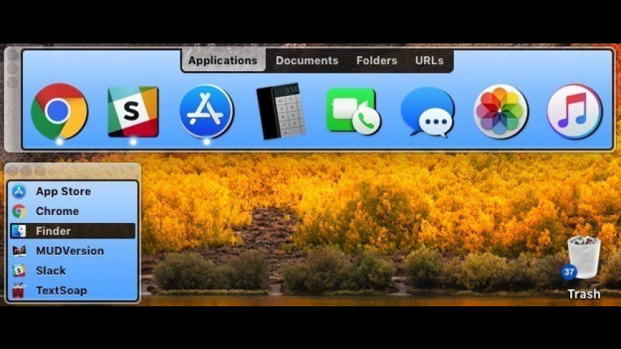 DragThing for Mac - review, screenshots