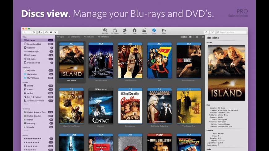 Movie Explorer for Mac - review, screenshots