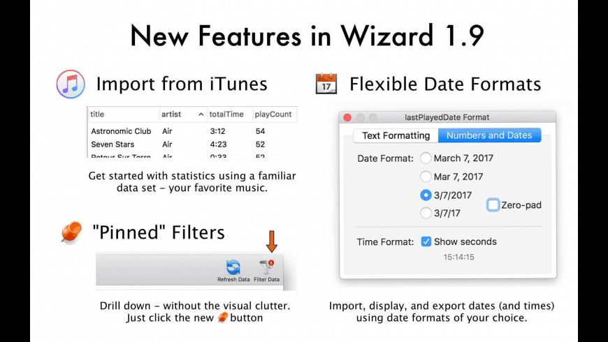 Wizard for Mac - review, screenshots