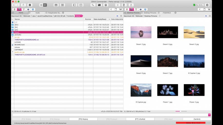 CRAX Commander for Mac - review, screenshots