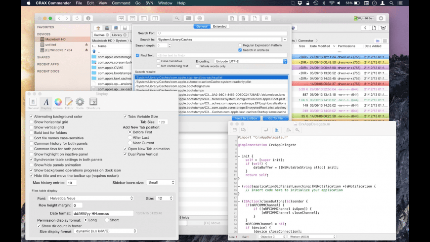 CRAX Commander for Mac - review, screenshots