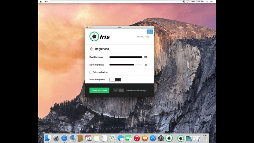 Iris for Mac - review, screenshots