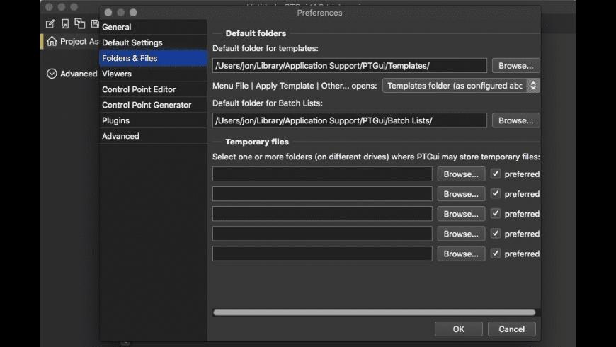 PTGui for Mac - review, screenshots