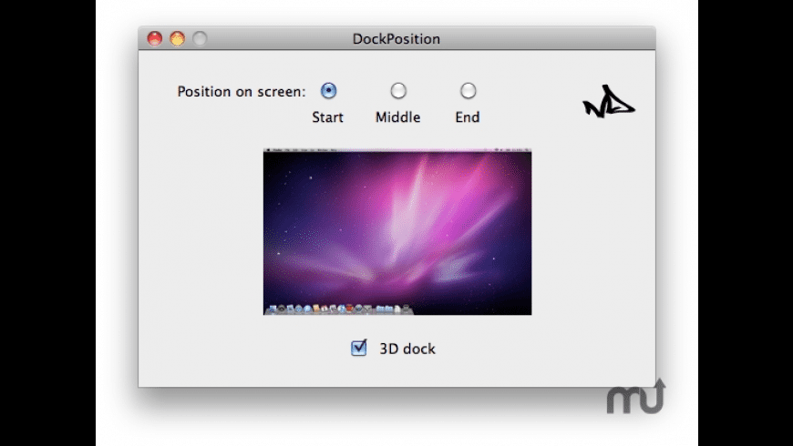 DockPosition for Mac - review, screenshots