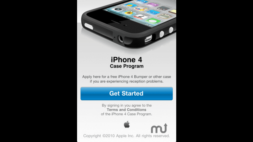 iPhone 4 Case Program for Mac - review, screenshots