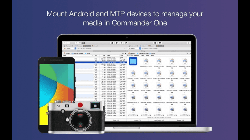 Commander One for Mac - review, screenshots