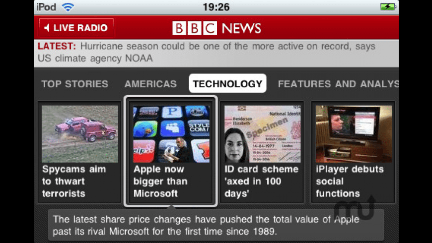 BBC News for Mac - review, screenshots