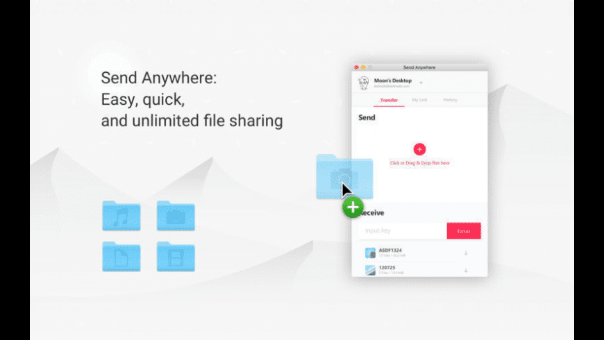 Send Anywhere for Mac - review, screenshots