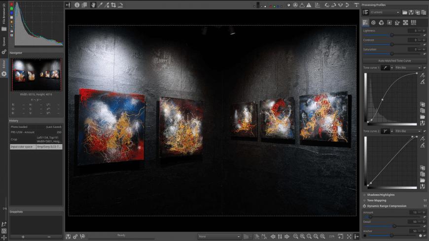 RawTherapee for Mac - review, screenshots