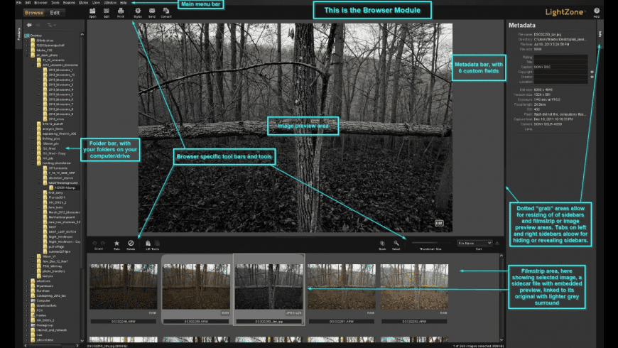 LightZone for Mac - review, screenshots