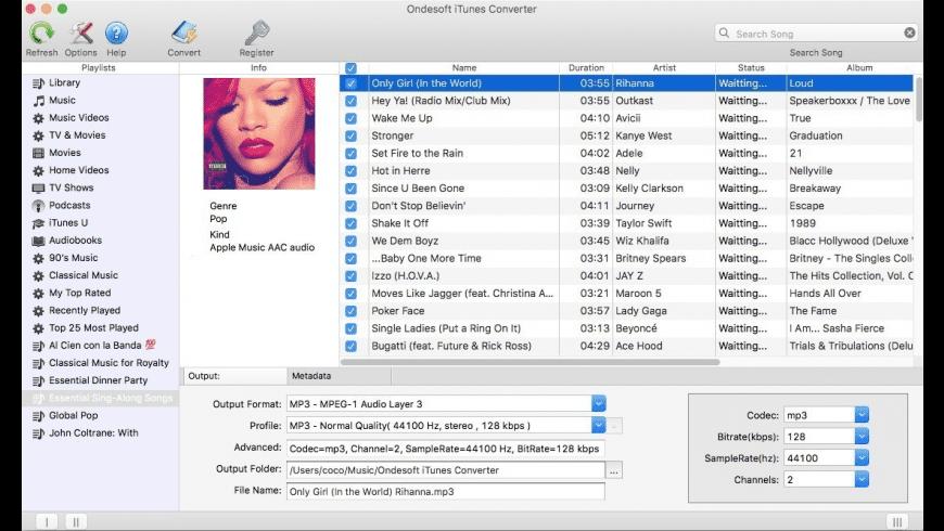Ondesoft iTunes Converter for Mac - review, screenshots