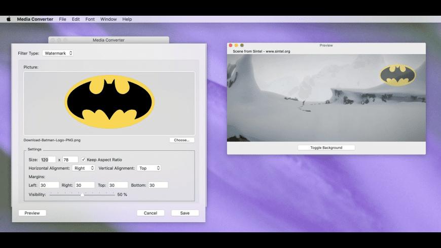 Media Converter for Mac - review, screenshots