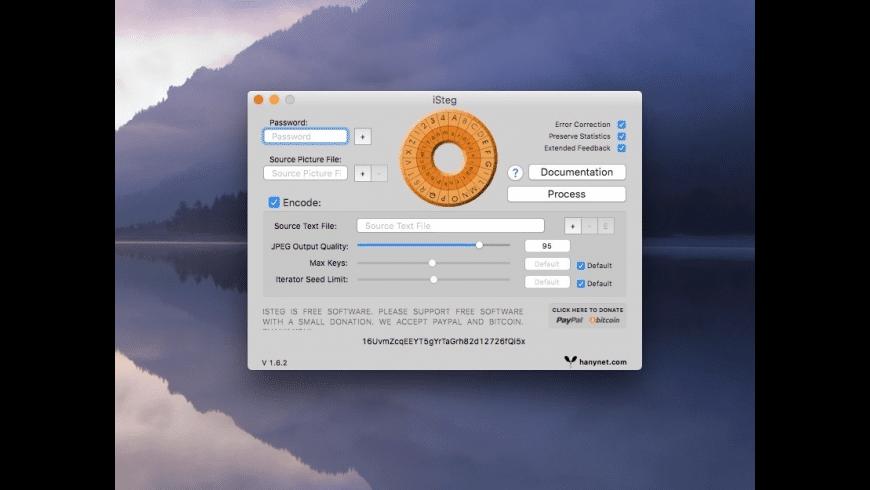 iSteg for Mac - review, screenshots