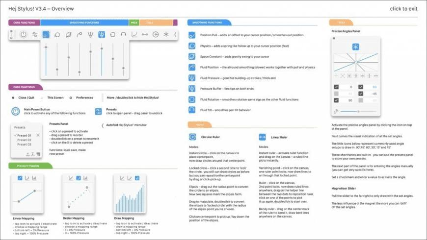 Hej Stylus! for Mac - review, screenshots