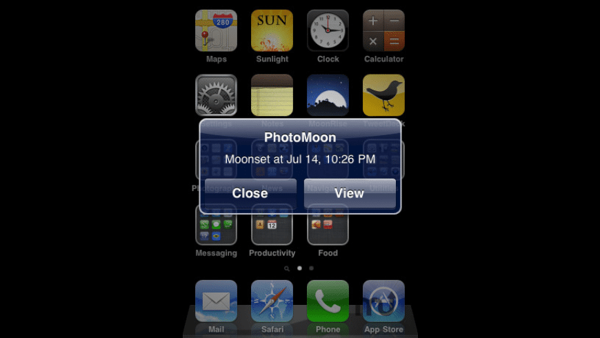 PhotoMoon for Mac - review, screenshots