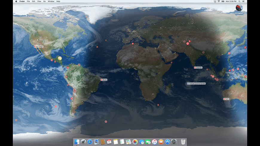 EarthDesk for Mac - review, screenshots