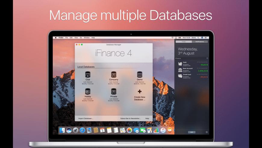 iFinance for Mac - review, screenshots