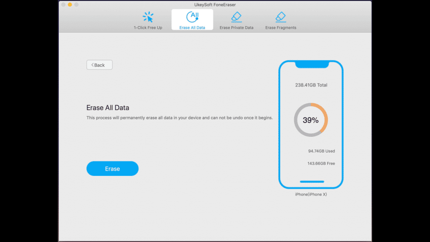 UkeySoft FoneEraser for Mac - review, screenshots