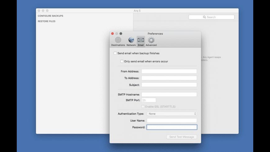 Arq for Mac - review, screenshots