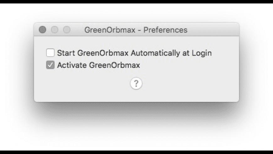 GreenOrbmax for Mac - review, screenshots