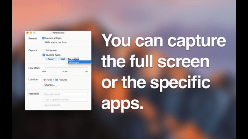 Capturer for Mac - review, screenshots