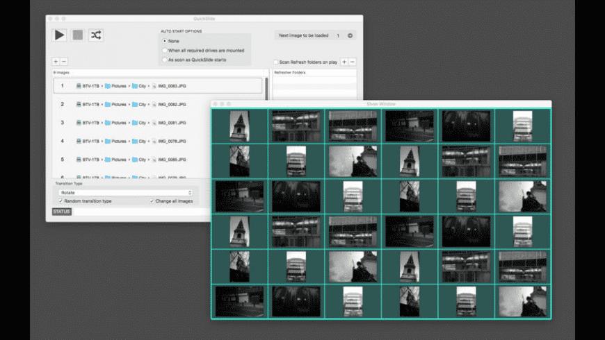 QuickSlide for Mac - review, screenshots