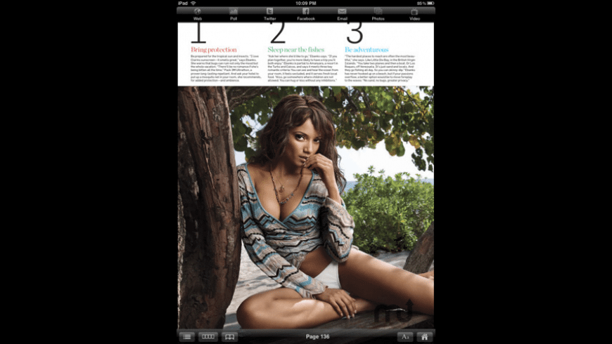 Men\'s Health Magazine for Mac - review, screenshots