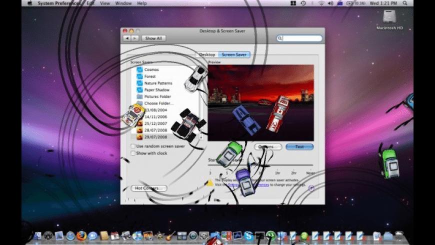 3D Desktop Cars Screen Saver for Mac - review, screenshots
