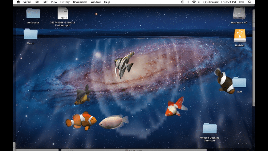 Desktop Aquarium 3D for Mac - review, screenshots