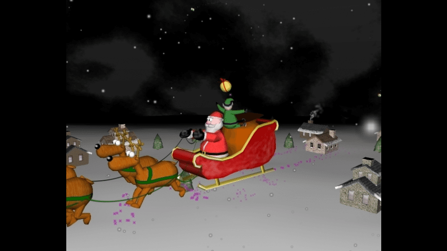 A Very 3D Christmas Screen Saver for Mac - review, screenshots