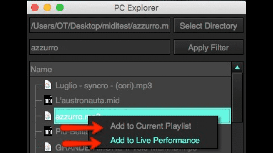 KantoPlayer for Mac - review, screenshots
