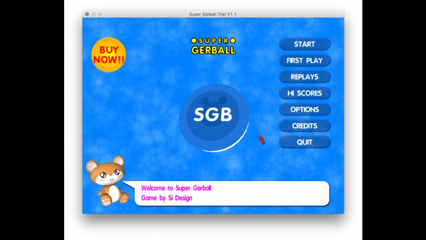 Super Gerball for Mac - review, screenshots
