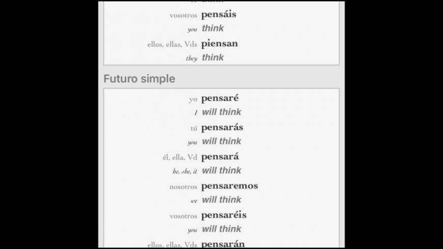 Ultralingua's German-English dictionary for Mac - review, screenshots