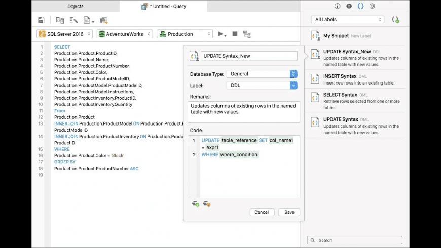 Navicat Premium for Mac - review, screenshots